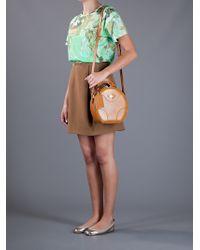 Carven | Orange Small Box Bag | Lyst