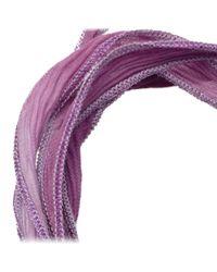 Mizuki - Purple Double Star Wrap Bracelet - Lyst