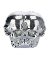 Alexander McQueen | Metallic Siamese Skull Ring | Lyst