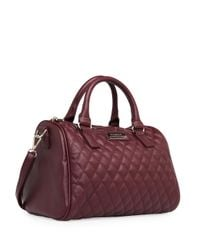 Mango | Purple Touch Quilted Bowling Bag | Lyst