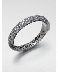 M.c.l  Matthew Campbell Laurenza | Metallic Blue Sapphire White Topaz Blue Topaz Sterling Silver Bracelet | Lyst