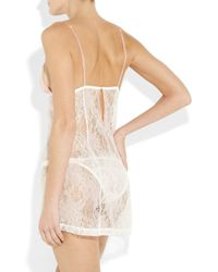 Mimi Holliday by Damaris | White Blossom Lace Chemise | Lyst