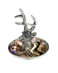 ASOS | Metallic Stag Jewellery Holder Ring Dish | Lyst