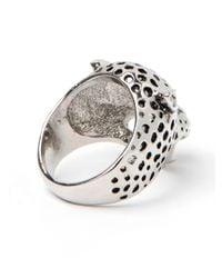 BaubleBar - Metallic Leopard Ring - Lyst