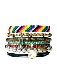 River Island | Multicolor Blogger Friendship Bracelets Pack | Lyst