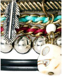 River Island - Multicolor Blogger Friendship Bracelets Pack - Lyst
