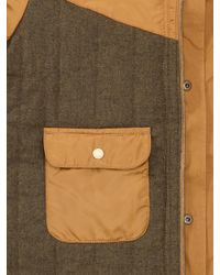 Gap | Brown Fourpocket Quilt Lining Jacket for Men | Lyst