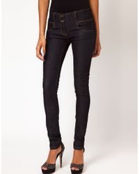 ASOS Collection | Blue Asos Petite Super Skinny Jean | Lyst