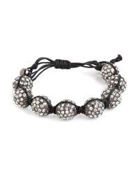 BaubleBar - Black Noir Pop Bracelet - Lyst