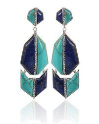 Kara Ross - Green Kara Ross Earrings - Lyst