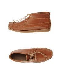Oliver Spencer | Brown Lace-up Shoe Boot for Men | Lyst