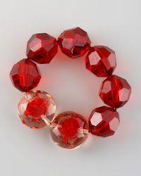 Marni - Beaded Bracelet Red - Lyst