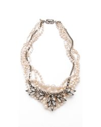 Tom Binns | White Regal Rocker Necklace | Lyst