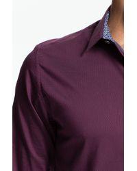 Ted Baker | Purple Tantic Sport Shirt for Men | Lyst