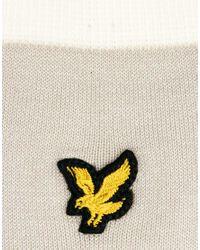 Lyle & Scott - Gray Plain Logo Socks for Men - Lyst