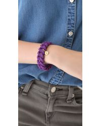 Marc By Marc Jacobs - Purple Rubber Katie Bracelet - Lyst