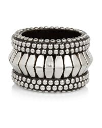 Day Birger et Mikkelsen | Metallic Studded Wooden Bangle | Lyst