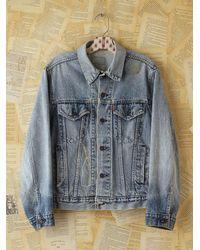 Free People   Blue Vintage Levis Denim Jacket   Lyst