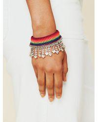 Free People - Multicolor Light Of Lakshmi Bracelet - Lyst