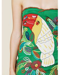Free People - Multicolor Fp New Romantics Parrot Bay Tube Dress - Lyst