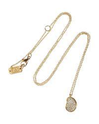 Ippolita | Metallic Glamazon® Stardust 18-karat Rose Gold Diamond Necklace | Lyst