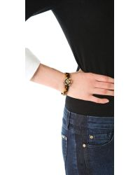 Tory Burch | Brown Walter Thin Bracelet | Lyst