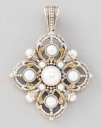Konstantino | Metallic Kassandra Pearl Enhancer | Lyst