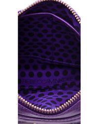 Rebecca Minkoff - Purple Mini Mac Bag - Lyst