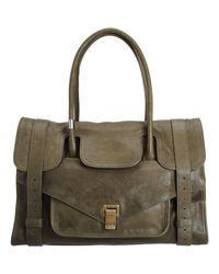 Proenza Schouler | Green Ps1 Keep All Small Leather | Lyst