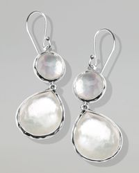 Ippolita - Metallic Mother-of-pearl Wonderland Teardrop Earrings - Lyst