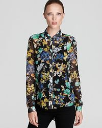 Sachin & Babi | Multicolor Floral Blouse Rimini with Pleated Back | Lyst