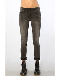 Cheap Monday | The Tight Skinny Jean in Wrecking Black | Lyst