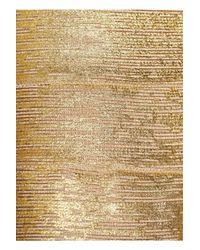 Hervé Léger   Gold Coated Bandage Skirt   Lyst