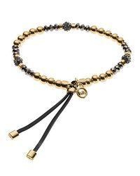 Michael Kors | Metallic Stretch Fireball Bead Bracelet | Lyst
