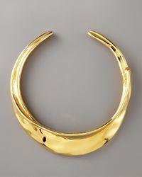 Alexis Bittar - Metallic Gold Orbiting Collar Necklace - Lyst