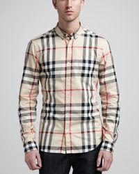 Burberry Brit | Natural Niall Shirt for Men | Lyst