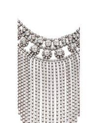 DANNIJO - Metallic Anoushka Necklace - Lyst