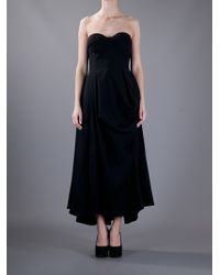Jil Sander | Black Madreperla Dress | Lyst