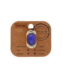 TOPSHOP - Purple Mood Ring - Lyst