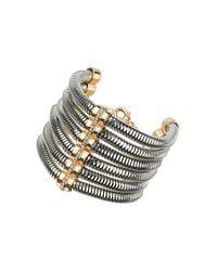 TOPSHOP - Metallic Premium Tubular Bracelet - Lyst