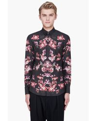 Alexander McQueen | Multicolor Graphic Floral Shirt for Men | Lyst
