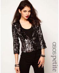 ASOS Metallic Sequin Jacket