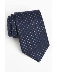 Michael Kors | Blue Men's Square Neat Classic Tie for Men | Lyst