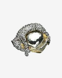 Alexis Bittar | Metallic Siyabona Gold Pyrite Panther Ring | Lyst