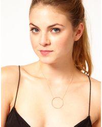 Dogeared - Metallic Large Sparkle Karma Necklace - Lyst