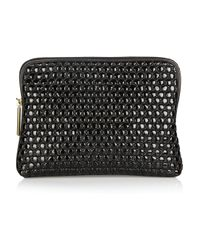 3.1 Phillip Lim | Black 31 Minute Quilted Leather Clutch | Lyst