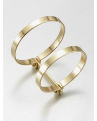 A.L.C. | Metallic Double Bondage Bracelet | Lyst