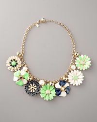 kate spade new york - Multicolor Posey Park Statement Necklace - Lyst