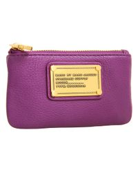 Marc By Marc Jacobs | Purple Classic Q Key Pouch | Lyst