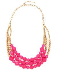 BaubleBar - Pink Fuchsia Geo Strands - Lyst